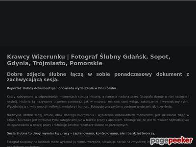 Krawcy Wizerunku - Fotograf ślubny Trójmiasto