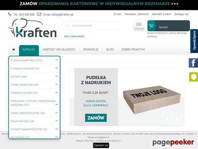 Pudełka kartonowe - kraften.pl