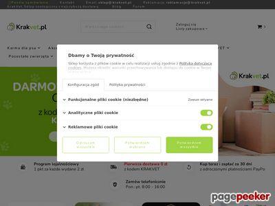 Internetowy sklep Krakvet