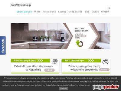 Kupwkoszalinie.pl - odkurzacz bezprzewodowy