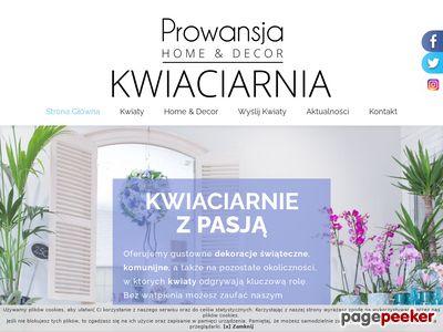 Kwiaciarnie Prowansja Szczecin