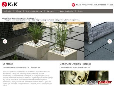 Kik.net.pl - gabiony Wrocław