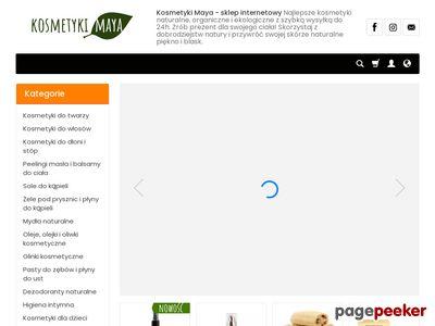 Kosmetyki organiczne i naturalne - sklep