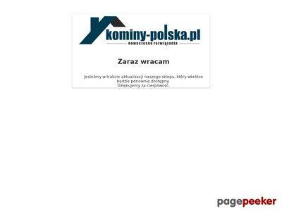 Wkłady kominowe i kominy izolowane - Kominy-Polska.pl