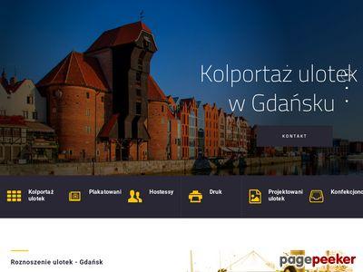 Profesjonalne roznoszenie ulotek w Gdańsku - kolportaż
