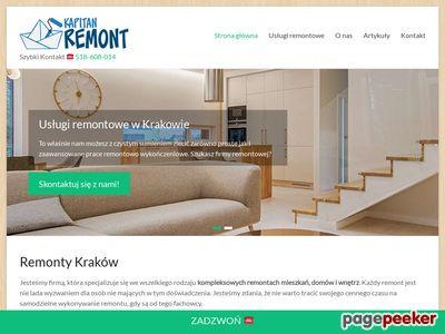 KapitanRemont.pl - remonty wnętrz w Krakowie