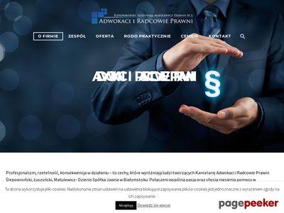 Adwokaci Białystok