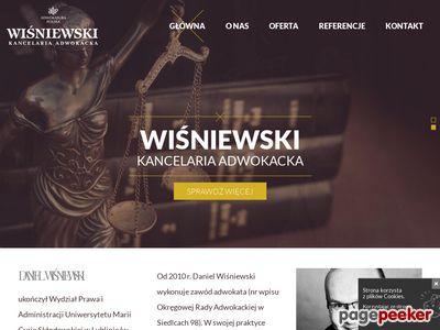 Daniel Wiśniewski - Prawnik Mińsk Mazowiecki