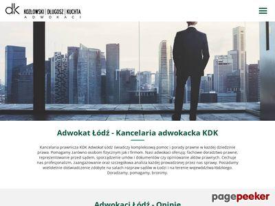 Adwokat Łódź - najlepsi adwokaci w Łodzi