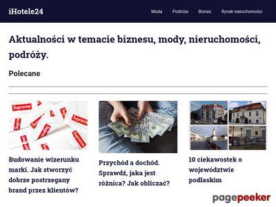 Hotel Łódź, Mielno i Toruń - Baza ihotele24.pl