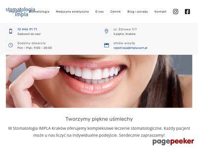 Gabinet stomatologiczny Impla