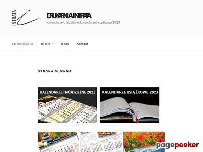 Intrata.pl - kalendarze książkowe