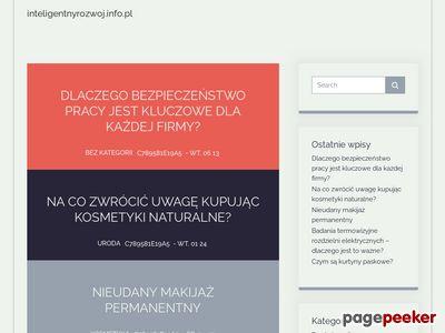 Www.inteligentnyrozwoj.info.pl - po ir
