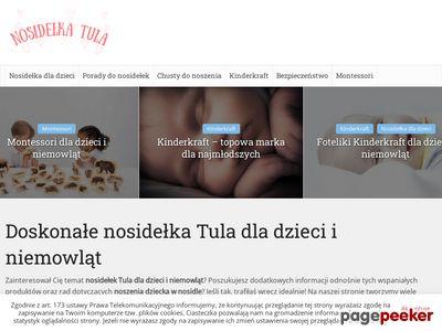 Nosidełka Tula dla dzieci i niemowląt