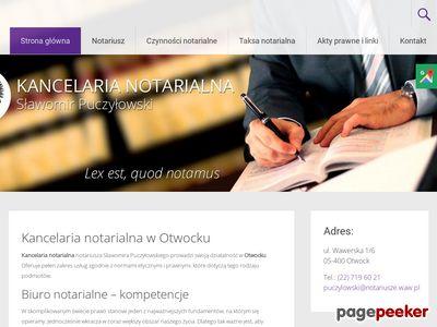 S. Puczyłowski kancelaria notarialna otwock
