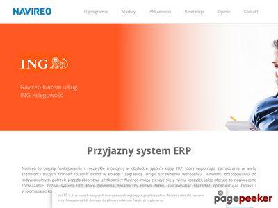 Naviero - system ERP do zarządzania