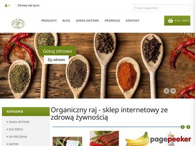 Eko żywność - organicznyraj.pl