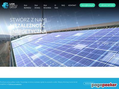 Lioneg.pl instalacja fotowoltaiczna