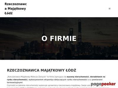 Rzeczoznawca Majątkowy Mateusz Zarzycki Łódź