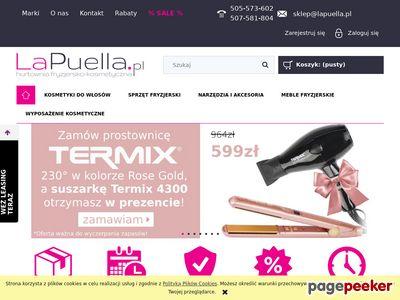 Hurtownia fryzjerska La Puella - kosmetyki i więcej