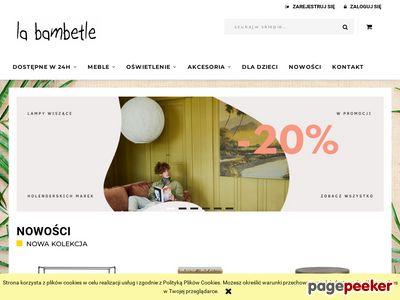 Meble design La Bambetle