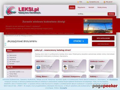 Miniaturka Katalog stron www - leksi.pl