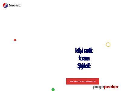 LEOPARD PIOTR DOBROWOLSKI odzież reklamowa