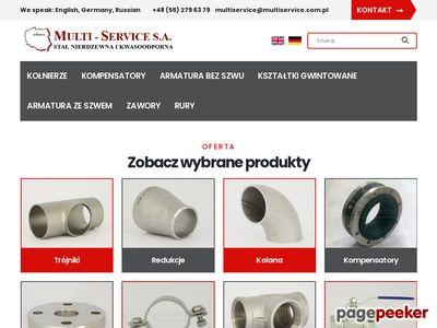 MULTI - SERVICE - Rury ze szwem