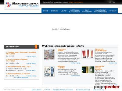Ogrzewanie dachów - mikroenergetyka.com.pl