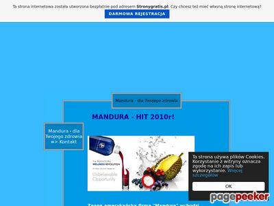 Mandura - dla Twojego zdrowia