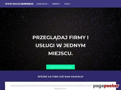 Masaż i rehabilitacja z dojazdem Gliwice, Zabrze