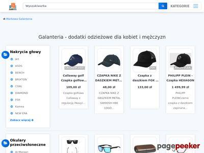Galanteria skórzana - markowy sklep w internecie