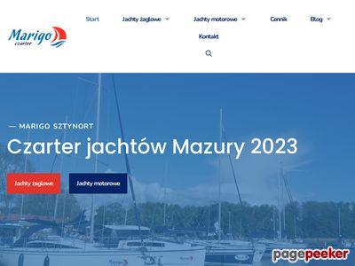 Czarter jachtów na Mazurach Marigo.pl