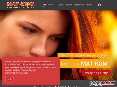 Mat-Kom salon sprzedaży kominków w Lublinie