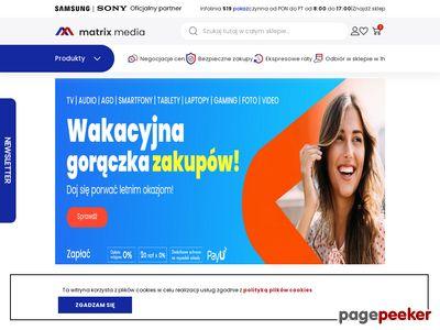 MatrixMedia.pl - sklep rtv i agd
