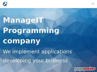 ManageIT | aplikacje webowe