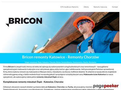 Bricon Chorzów remonty