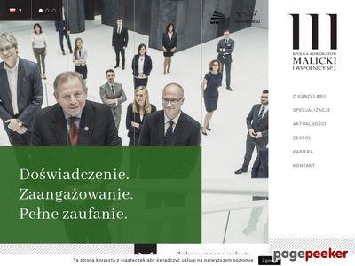 Malicki.Wroc.pl Adwokat sprawy karne Wrocław