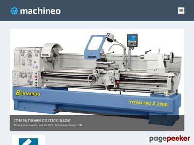 Machineo.pl - maszyny do metalu