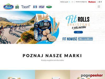 Melvit.pl - producent płatków żytnich