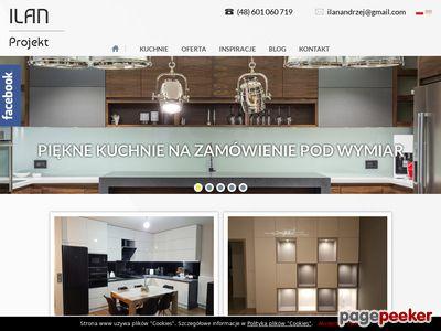 Kuchnie na wymiar Szczecin
