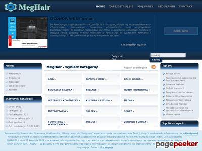 Profesjonalny katalog stron - meghair.pl