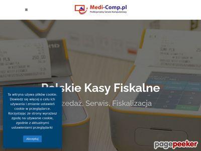 Kasy fiskalne Andrychów - medi-comp.pl