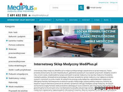 Wózki inwalidzkie - mediplus.pl