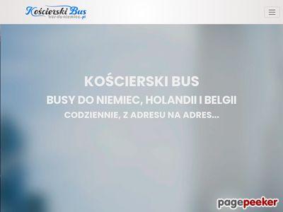 Kaszubski bus do Niemiec