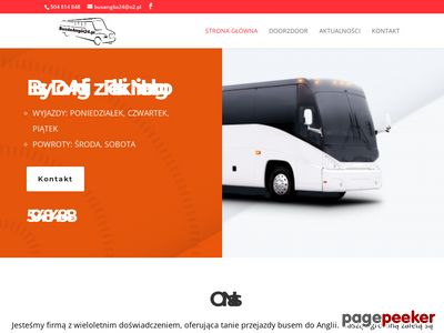 Bus do Anglii