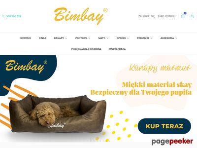 Bimbay.pl Legowisko dla psa na zamówienie