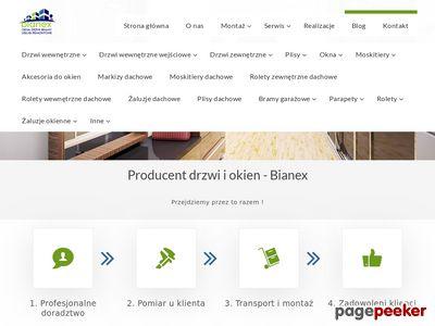 Bianex.pl - okna, drzwi, bramy