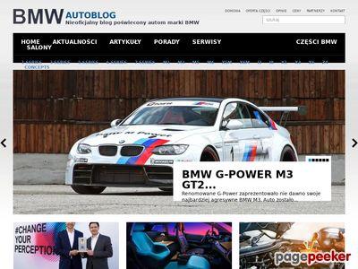 Poznaj markę BMW na BMWAutoBlog.pl