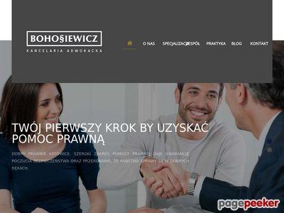Kancelaria Adwokacka Krzysztofa Bohosiewicza